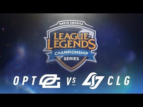 Xxx Mp4 OPT Vs CLG Week 4 Day 1 NA LCS Spring Split OpTic Gaming Vs Counter Logic Gaming 2018 3gp Sex