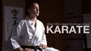 5 Things You Need to Know About Karate