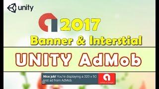 Unity AdMob (Google Mobile Ads) Integration 2017