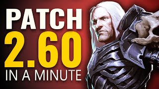 Diablo 3 Patch 2.6.0 in a Minute