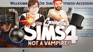Fitness Accessoires mit Isa & Franz! ★ Die Sims 4 VAMPIRES | #97