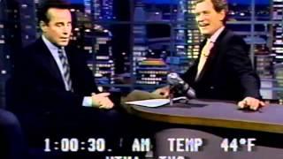 Phil Hartman on Letterman