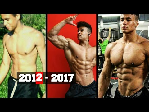 Onome Egger Incredible Natural 5 years Body Transformation Fitness Motivation