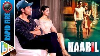 Hrithik Roshan | Yami Gautam's Rapid Fire On Kaabil | Dhoom 4 | Shahid Kapoor