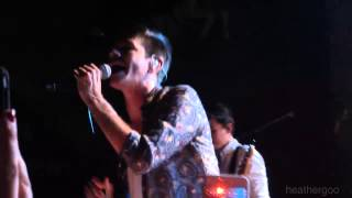 Nate Ruess & The Band Romantic - What This World Is Coming To, live in Paris