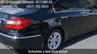 2013 Hyundai Genesis 3.8L 4dr Sedan for sale in Orlando, FL
