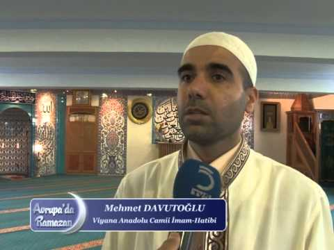Avrupada Ramazan 2012 Anadolu Camii Viyana Avusturya 1