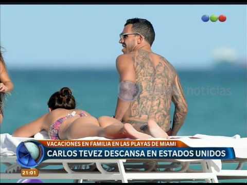 Xxx Mp4 Las Vacaciones De Carlos Tevez Telefe Noticias 3gp Sex