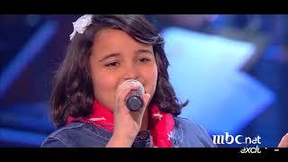 رحلة أشرقت أحمد بجميع مراحلها ستتذكرها دوماً في The Voice Kids