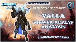 Grubby | Heroes of the Storm 2.0 - Valla - Viewer Replay Analysis - HL 2017 S2 - BoE