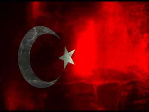 Turkish Waving Flag