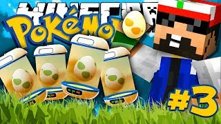 Minecraft: POKEMON!! #3 - 2x RARE EGGS!!