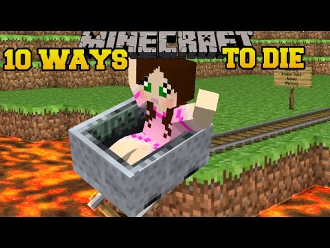 Minecraft CRAZIEST DEATHS IMAGINABLE MORE WAYS TO DIE Custom Map