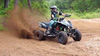 Fastest Quad Rider On The Trails