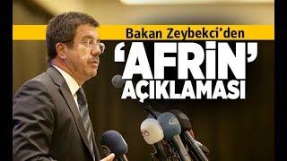 Bakan Zeybekci'den 'Afrin' açıklaması - Denizli Haberleri - HABERDENİZLİ.COM
