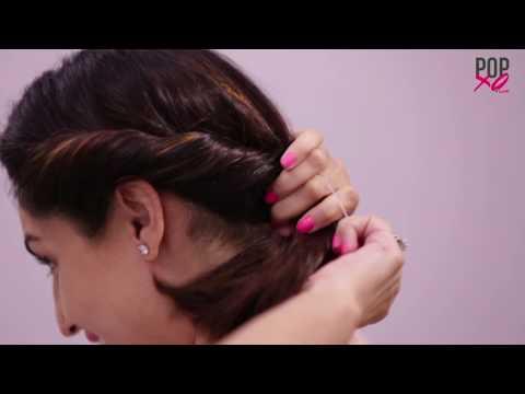 Xxx Mp4 3 Pretty Bun Hairstyles For Short Hair POPxo 3gp Sex