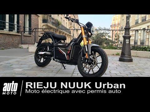 Moto électrique RIEJU NUUK Urban Essai POV AUTO MOTO.COM
