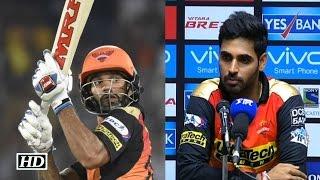 IPL9 SRH vs GL: Bhuvneshwar Praises Shikhar For Win