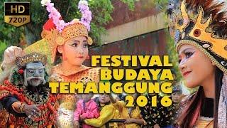 Festival Budaya Se Kabupaten Temanggung 2016