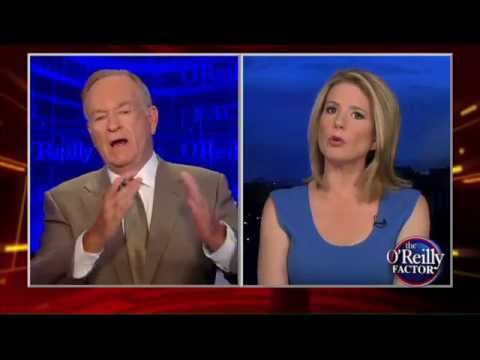 Bill O Reilly loses his cool during racism debate with Kirsten Powers