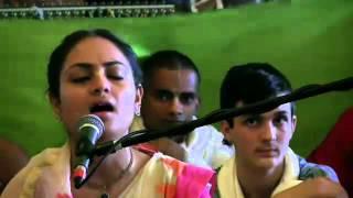 Day 2 Vishaka Devi Dasi 2016 Kirtan Mela ISKCON Mayapur 2