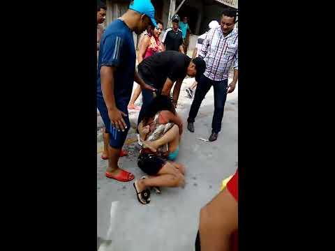 Briga de mulher na manhã de natal na Mirandinha