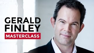 Vocal Masterclass with Gerald Finley at the Royal College of Music