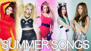 KPOP GIRL GROUPS: Summer Songs