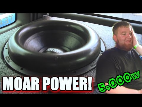 Sundown Subs LAUGHING at 5000 Watts w/ 2 15