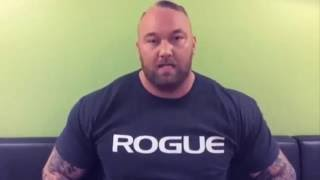 The Mountain Issues A Warning To Cristiano Ronaldo