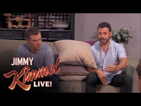 Matt Damon and Jimmy Kimmel Return to Couples Counseling