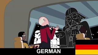 Was ist Nerdiger: Star Wars oder Star Trek? (German FanDub)