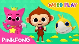 Monkey Banana and more   Word Play   +Compilation   Pinkfong Songs for Children