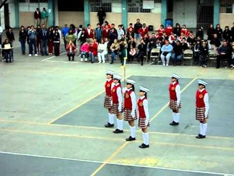 Escolta Sindicato Alba Roja T. M. . .1er. Lugar Febrero 2012