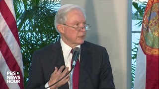 WATCH: AG Sessions discusses sanctuary cities in Miami