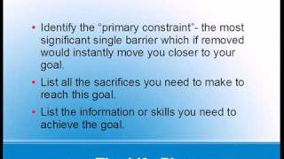 Goal Setting Worksheet Download