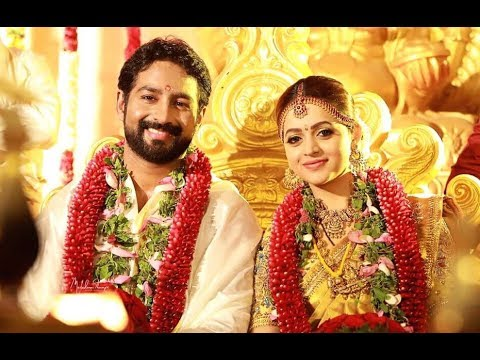 Actress Bhavana Marriage Photos | Bhavana Wedding And Mehendi Pics | Celebrity Pics | SV Telugu TV