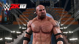 WWE 2K18 Exclusive - Goldberg Official Entrance in Wrestlemania 33 Arena!