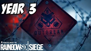 Rainbow Six Siege Year 3 ZOMBIES Mission Outbreak Operation Chimera Road Map Italy Morocco operators