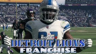 Madden NFL 18 Detroit Lions Franchise - Detroit Lions vs Baltimore Ravens (EP12 Lions vs Ravens)