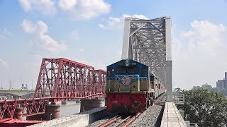 First Run of Bijoy Express on new made 2nd Bhairab Railway Bridge- Bangladesh Railway