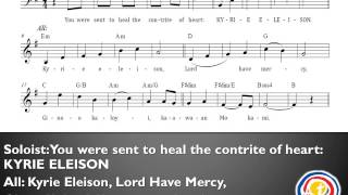 Kyrie Eleison (Penitential Act B) Mass of Mercy and Compassion Papal Visit 2015