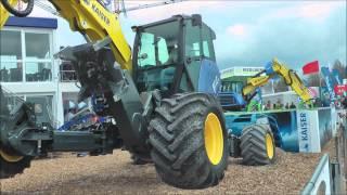 Demo of amazing all-terrain excavator @ Bauma 2013