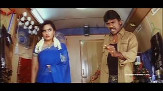 Rajathi Raja Movie Lawrence Blackmailing Sailaja Scene ||  Raghava Lawrence, Karunas