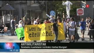XXVI. Martxa Antimilitarista Soietxeko Kuartel Militarrera, Mungian (2015-11-7)