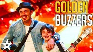 5 GOLDEN BUZZER Auditions on Britain