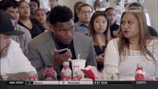 JuJu Smith-Schuster Sweats Out Draft Day