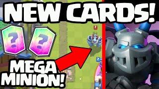 Clash Royale UPDATE ♦ NEW CARDS! ♦ MEGA MINION + MORE!
