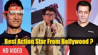 Jackie Chan Funny Reaction On Aamir Khan And Salman Khan | Best Action Star In Bollywood