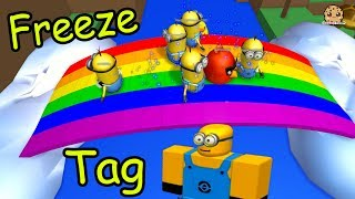 Minion Freeze Tag & Hide and Seek Extreme - Let